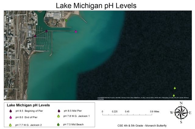 Grades 4-5: Lake Michigan pH Levels