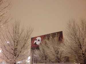 GSC friend, Bela Shayevich, sent in this pretty shot of a Chicago billboard.