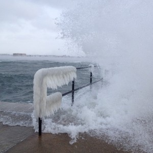 Frozen waves in Rhode Island (source)